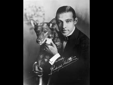 Rudolph Valentino - Hollywood Locations