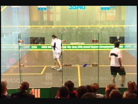 Jonathon Power VS Amr Shabana - Windy City Squash Open 2006 Semi-Finals