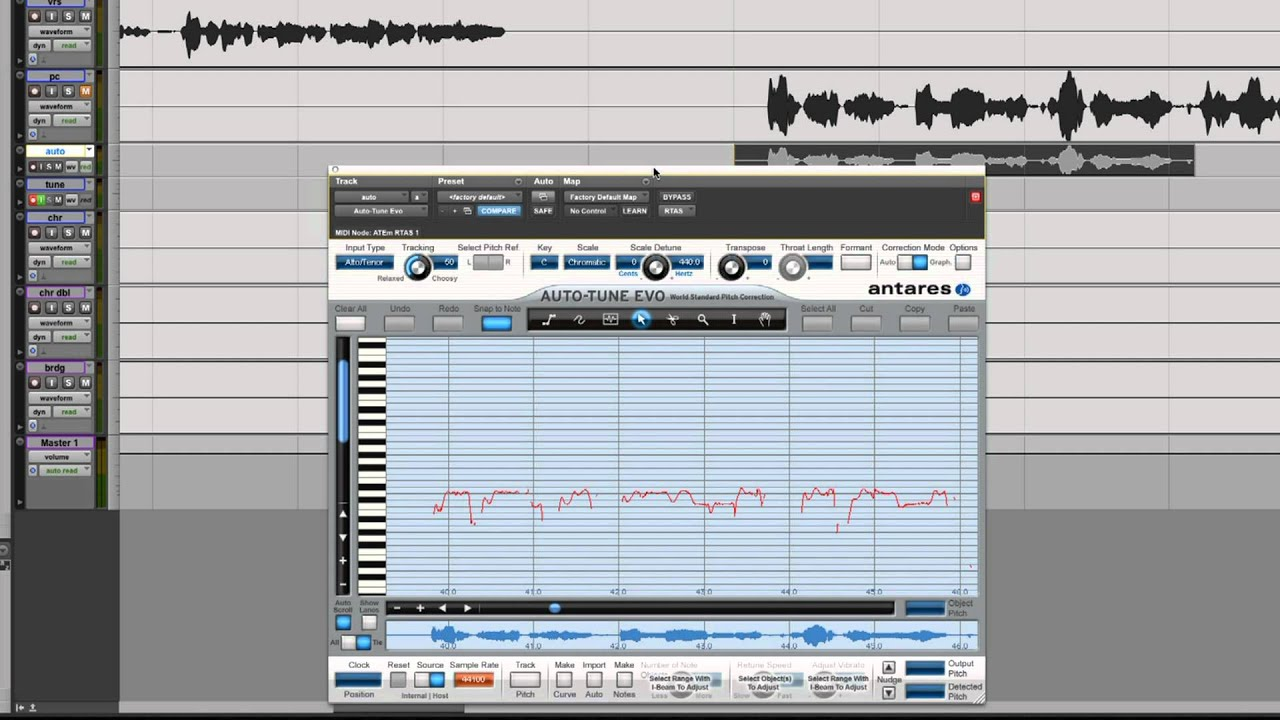 how to tune vocals using antares auto tune youtube