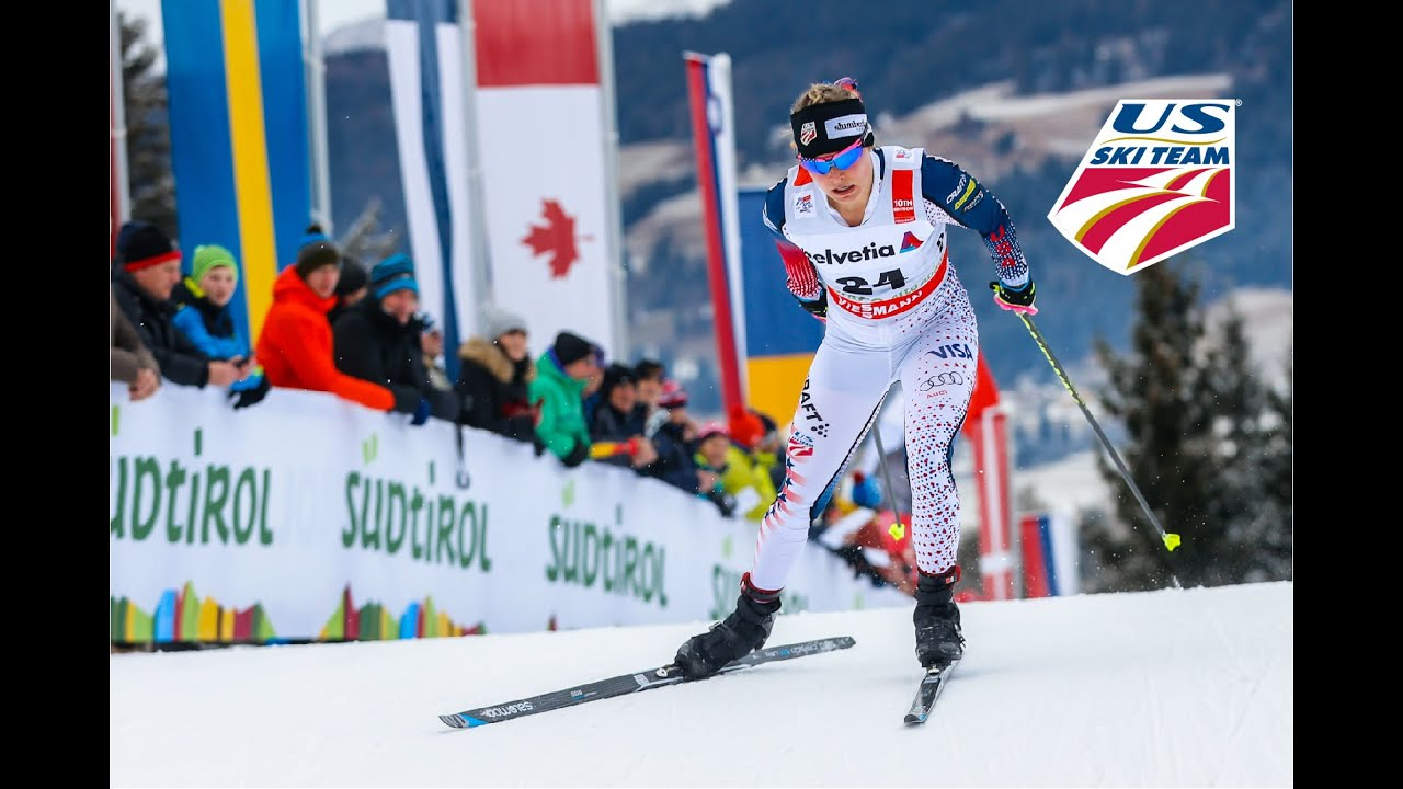 Jessie Diggins Wins! - Tour de Ski - Ladies' XC 5k Individual Start ...