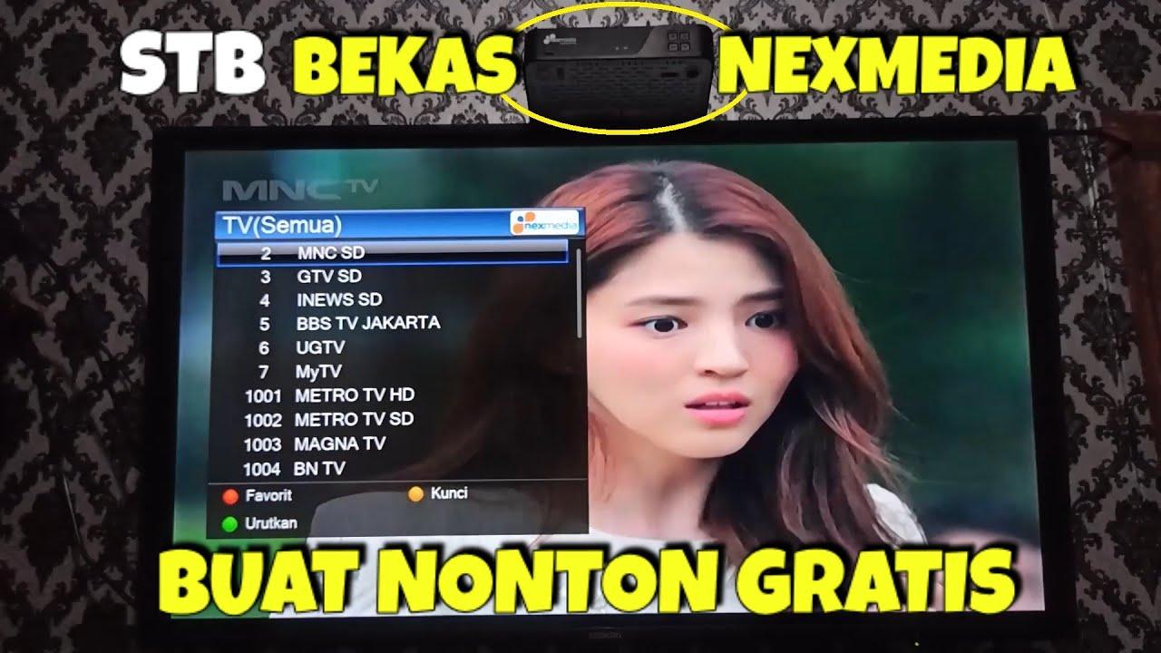 Cara Pakai Stb Nexmedia Untuk Nonton Siaran Digital Gratis Youtube