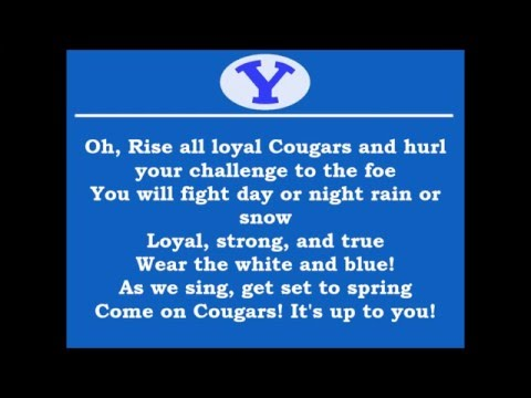 BYU Cougar Fight Song