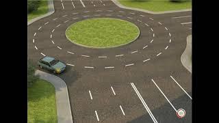Проезд перекрестков с круговым движением.
