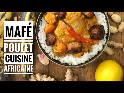 Cuisine Africaine : Recette Mafé Poulet facile avec Chef Solange Cooking