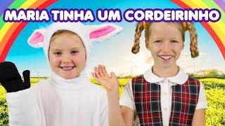 Maria Tinha Um Cordeirinho   Mary Had a Little Lamb in Portuguese