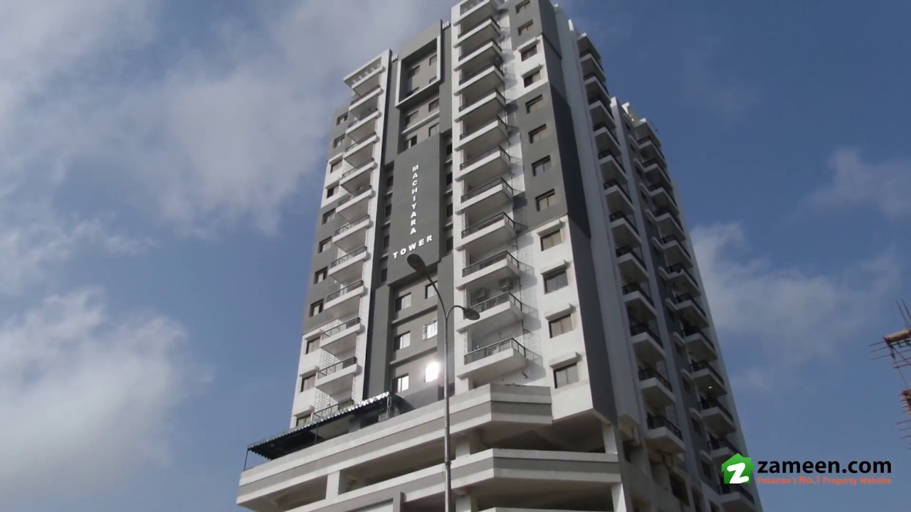 Brand New Building Super Luxury Apartment In Machiyara Tower For Sale In Clifton Block 8 Karachi Youtube