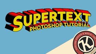 Photoshop Tutorial: Supertext