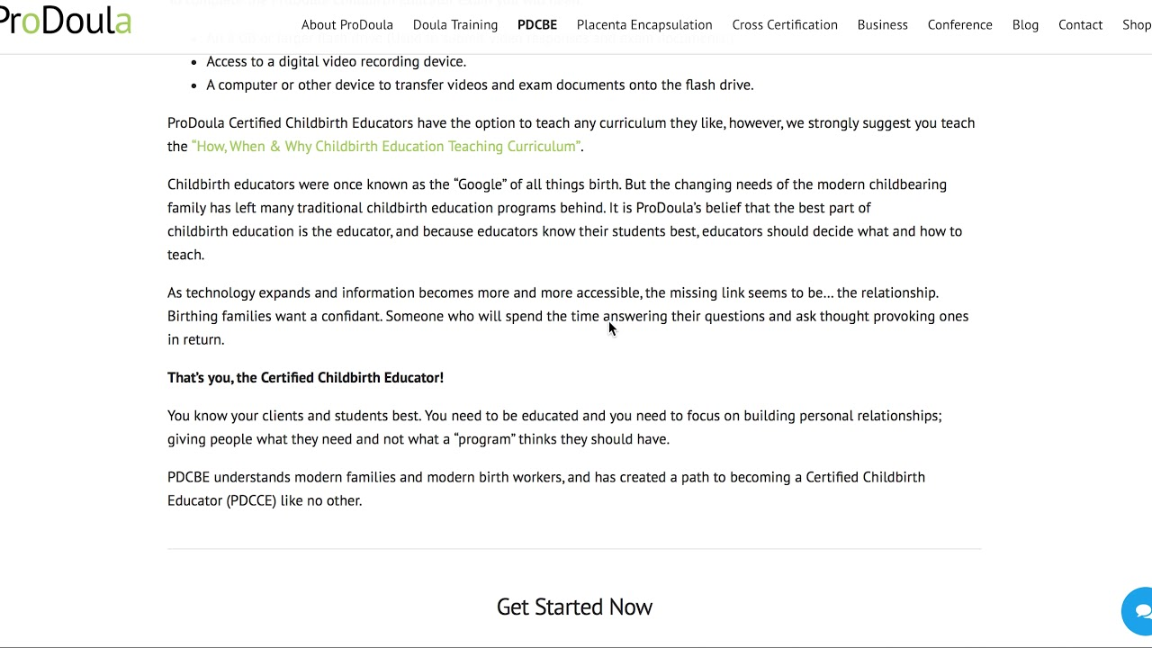 How To Become A Childbirth Educator Youtube