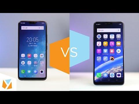 OPPO F7 vs Vivo V9 Comparison Review