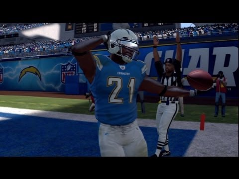 LaDainian Tomlinson Retires a San Diego Charger - Future Hall of Famer