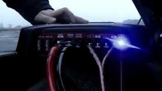 Как подключить(установить) сабвуфер, Сабвуфер Sony XS-GTX121LC, и усилитель Pioneer GM-5500T