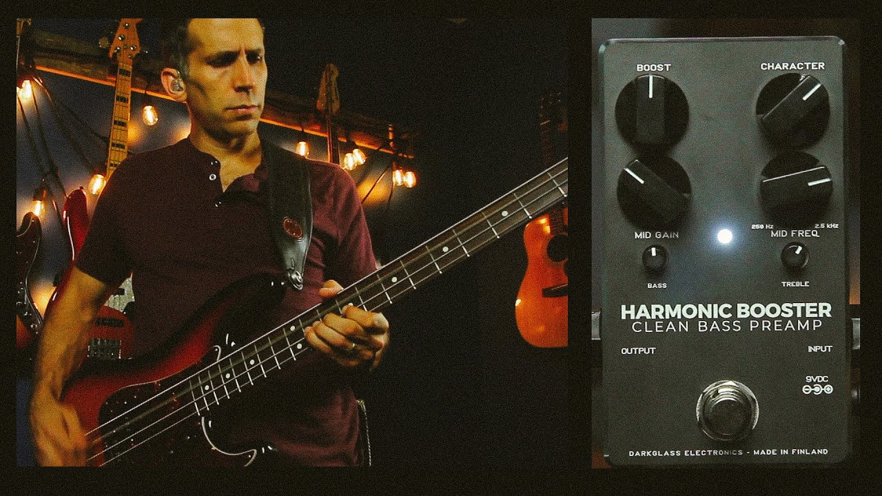 Harmonic Booster Demo by Amos Heller