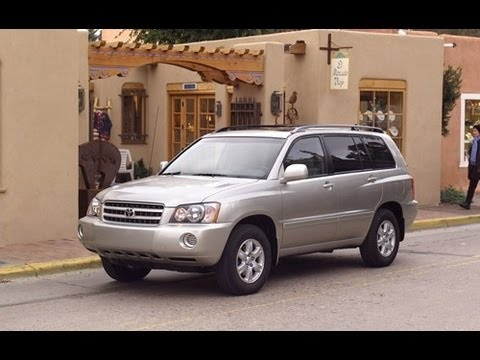 2003 Toyota Highlander Start Up and Review 3.0 L V6