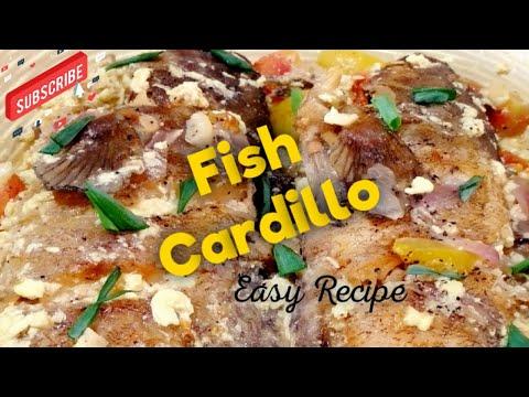 How To Cook Cardillong Isda / Fish Cardillo (EASY RECIPE)