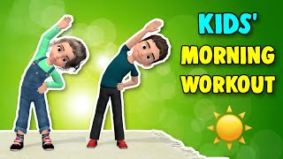 Kids Morning Workout - Kids Daily Exercises