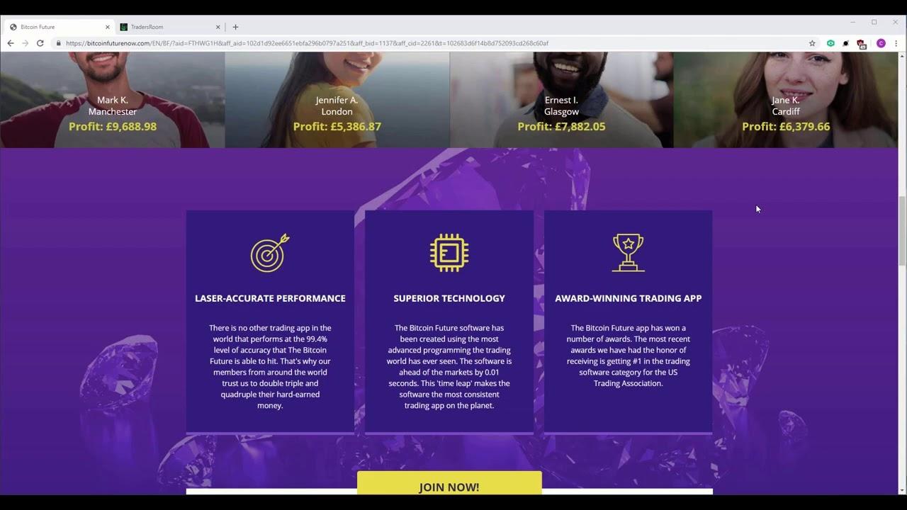 Bitcoin Future Ervaringen 2019: Oplichterij of betrouwbaar? Live resultaten