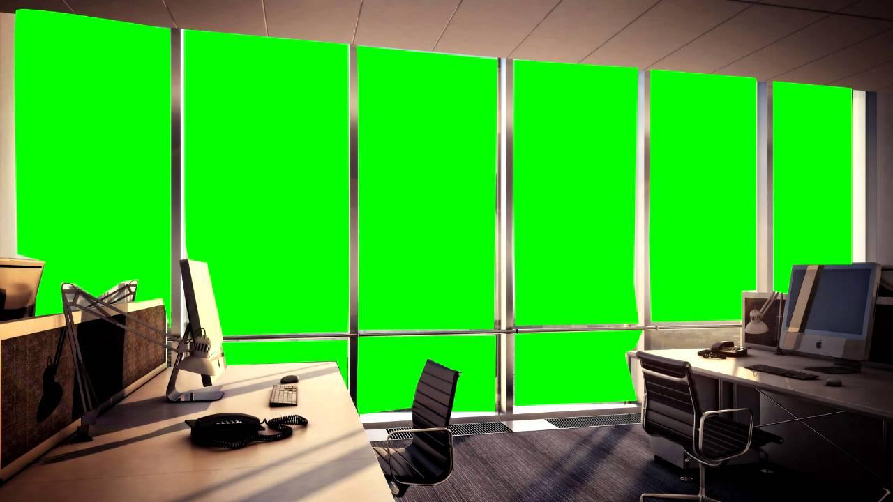 Office Green Screen Youtube