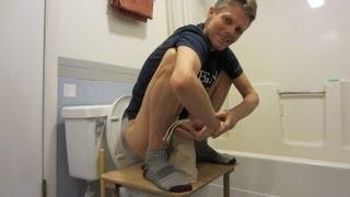 Squatting Toilet Platforms Available!  Squat for Bowel Movements! thumbnail