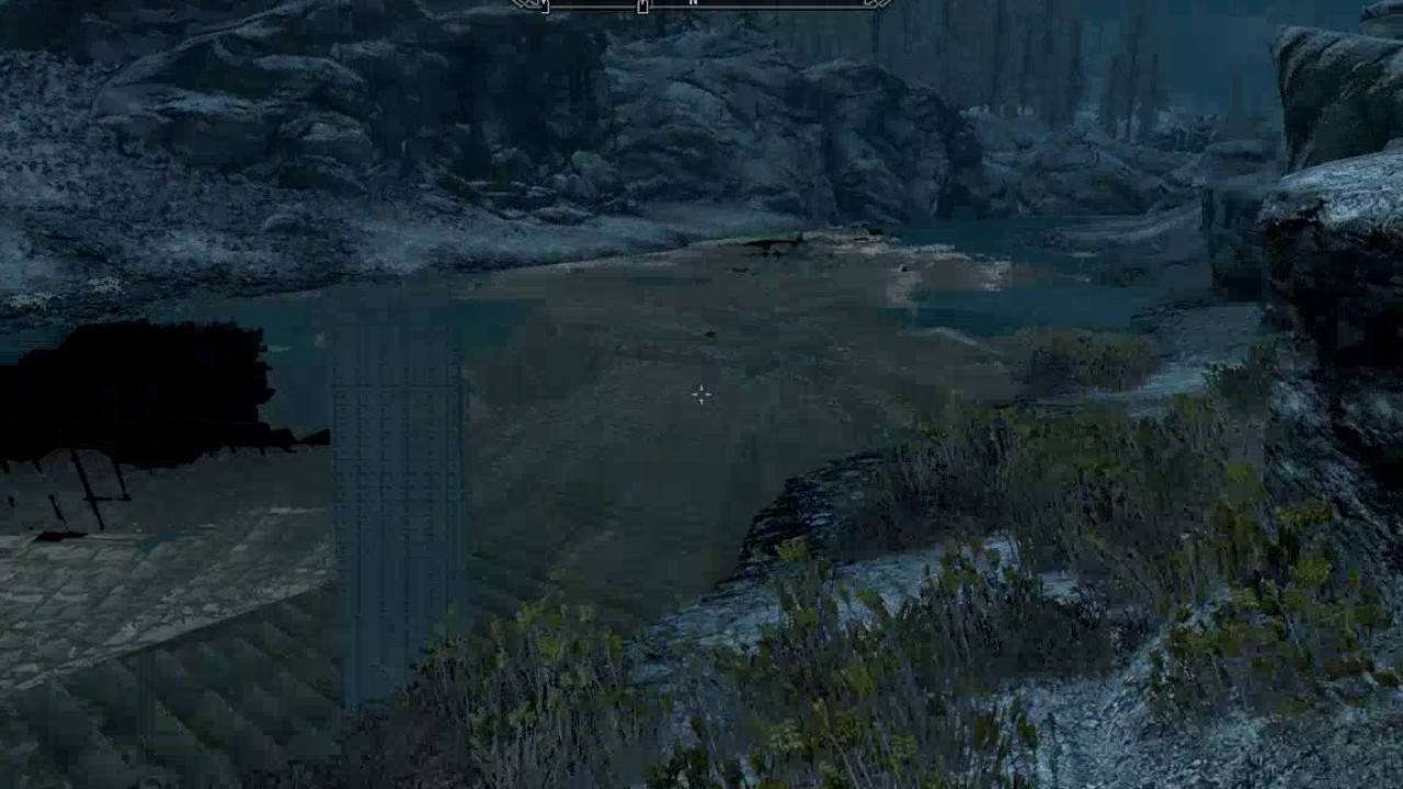 Skyrim:SE Water Graphic Glitch