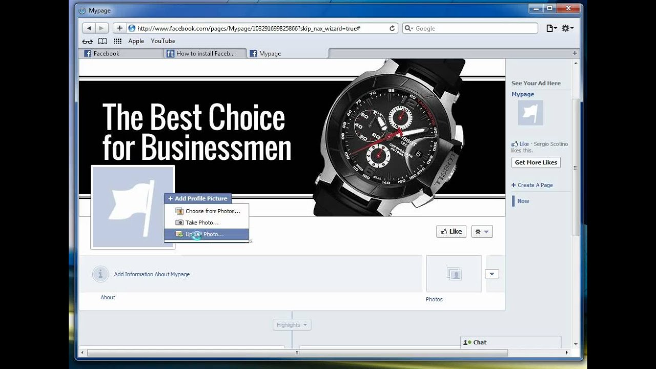 How to install facebook iframe template. Video tutorial - YouTube