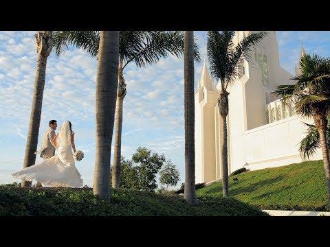 Kimberly + Michael Highlight Film // LDS Temple & Rancho Bernardo Inn Wedding Video // San Diego, CA