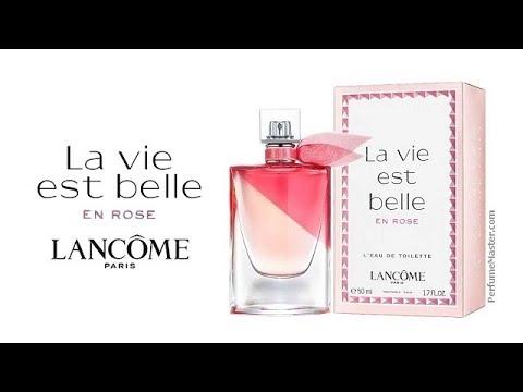 Est New Lancome Belle En Vie La Rose Perfume D9IW2YHE