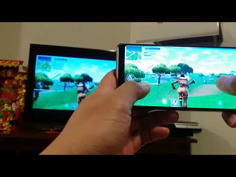 How to Cast Fortnite Game Playing to HD TV With EzCast 2 For Android / iPhone