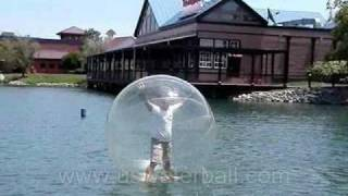 Water Walking Ball - Broadway at the Myrtle beach SC USA