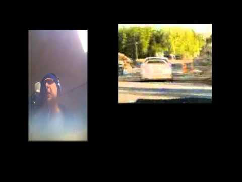 """Judas Priest Turbo Lover """"Karaoke"""" One Take Cover - includes car burnout videos and racing"""