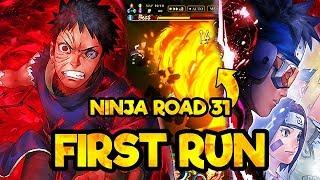 FINALLY AN EASY NINJA ROAD! Ninja Road 31 Under 100 Turns | Naruto Ultimate Ninja Blazing