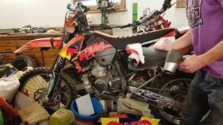 DIY - Lepení polepů na motorku