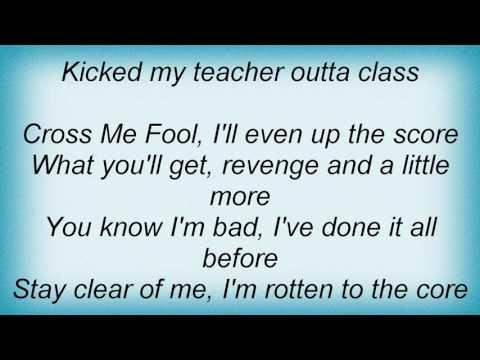Razor - Cross Me Fool Lyrics