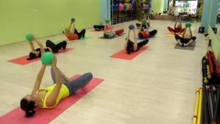 Упражнения с медболом на ноги, пресс, плечи ФЦ KING. Medicine Ball Exercises