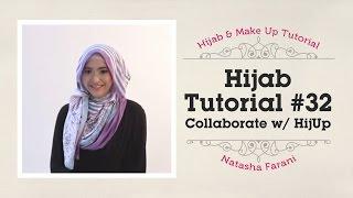 Hijab Tutorial - Natasha Farani (Collaborated with HijUp) #32