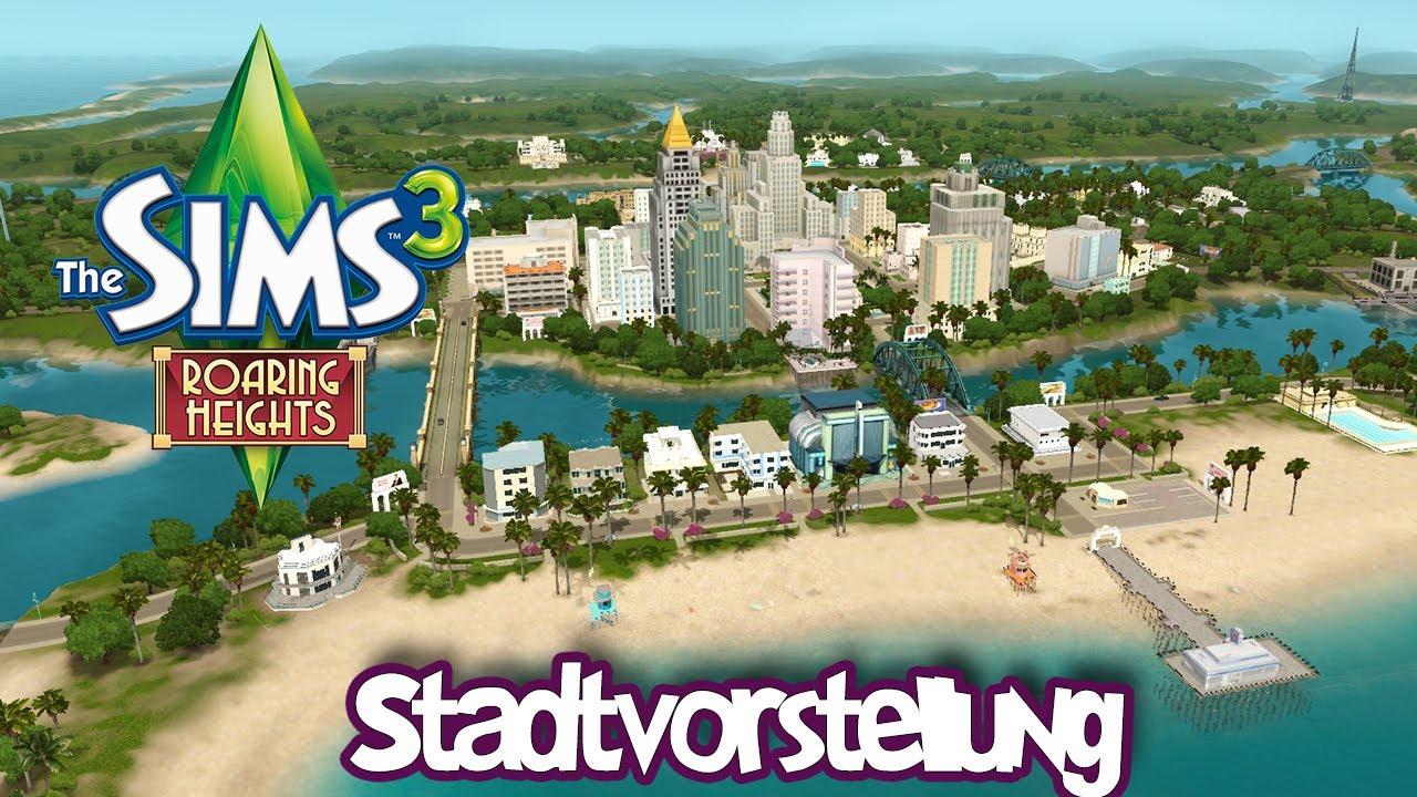 Die Sims 3 - Exklusiv Roaring Heights Stadtvorstellung ...