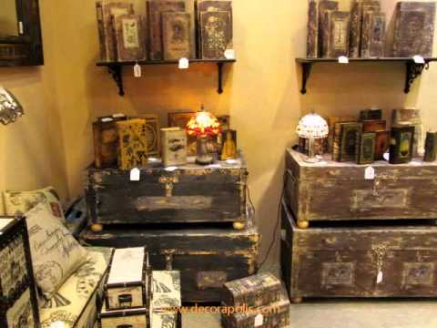 Art culos de decoraci n r stica feria intergift madrid for Decoracion rustica