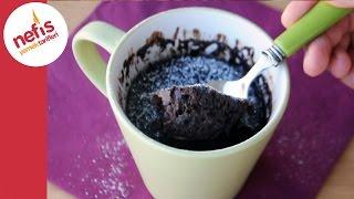 Bardak Kek Tarifi - 90 Saniyede Kek Yapımı