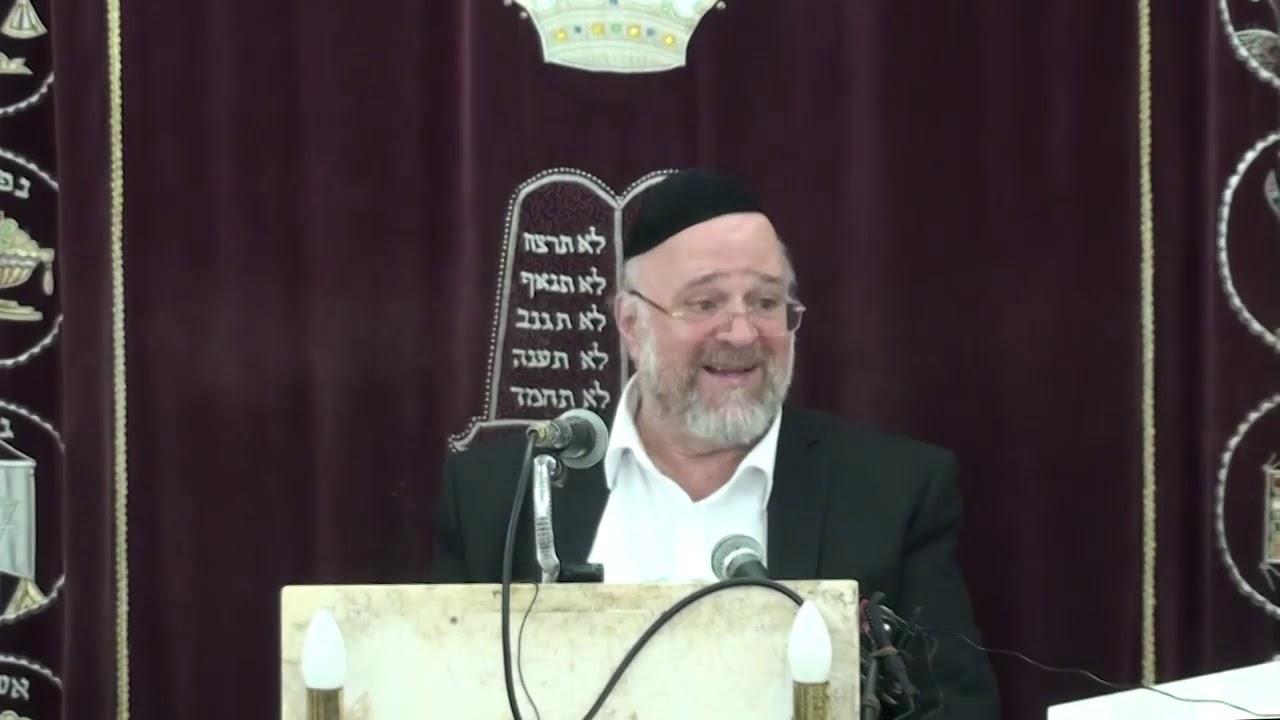 הרב ברוך רוזנבלום פרשת מסעי התשע''ט