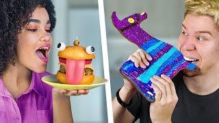 Еда в стиле Фортнайт – 8 идей