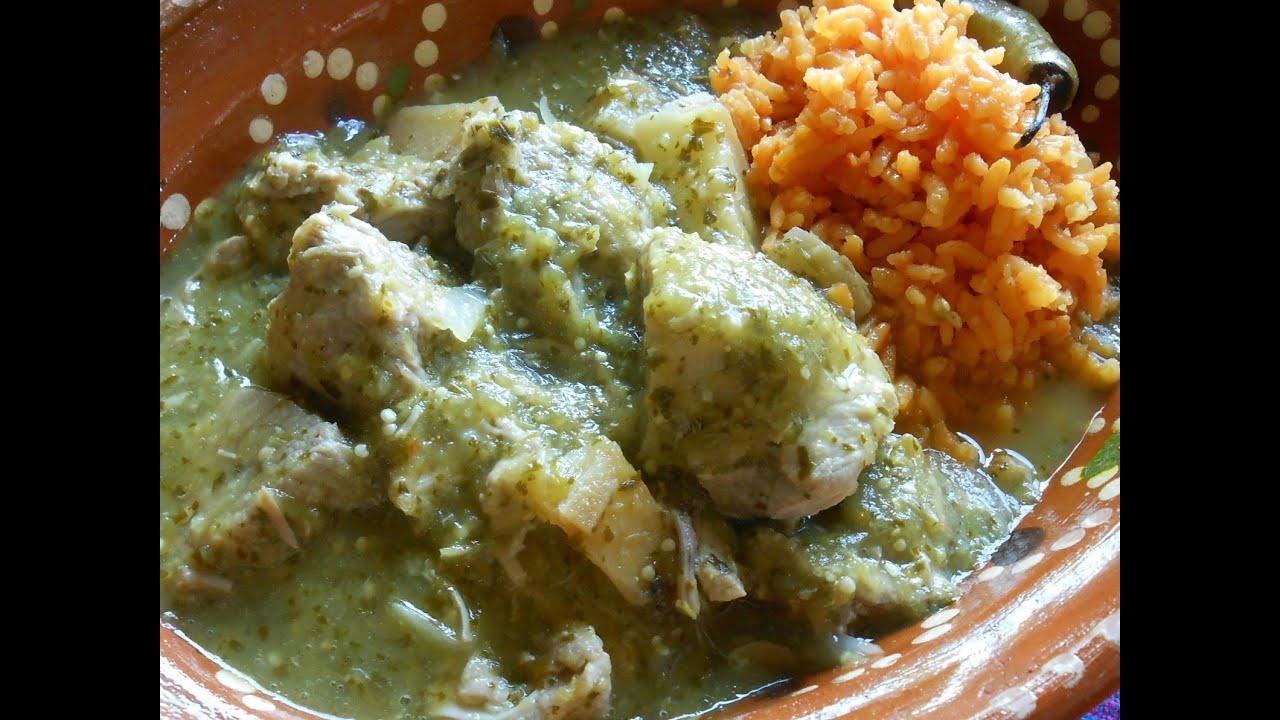 Chile Verde Pork - YouTube