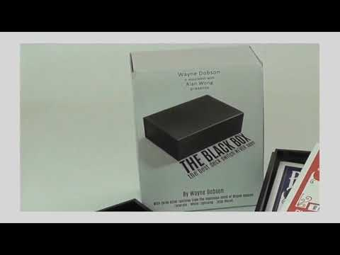 Saturn Magic The Black Box Gimmick And Online Instructions By Wayne Dobson And Alan Wong Trick Youtube