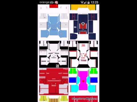Dream league soccer import kit youtube