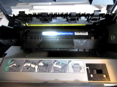 How To Install Canon 104 Toner Cartridge Into Imageclass