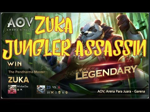 Aov Zuka Arena Of Valor Assassin Jungler Build And Gameplay