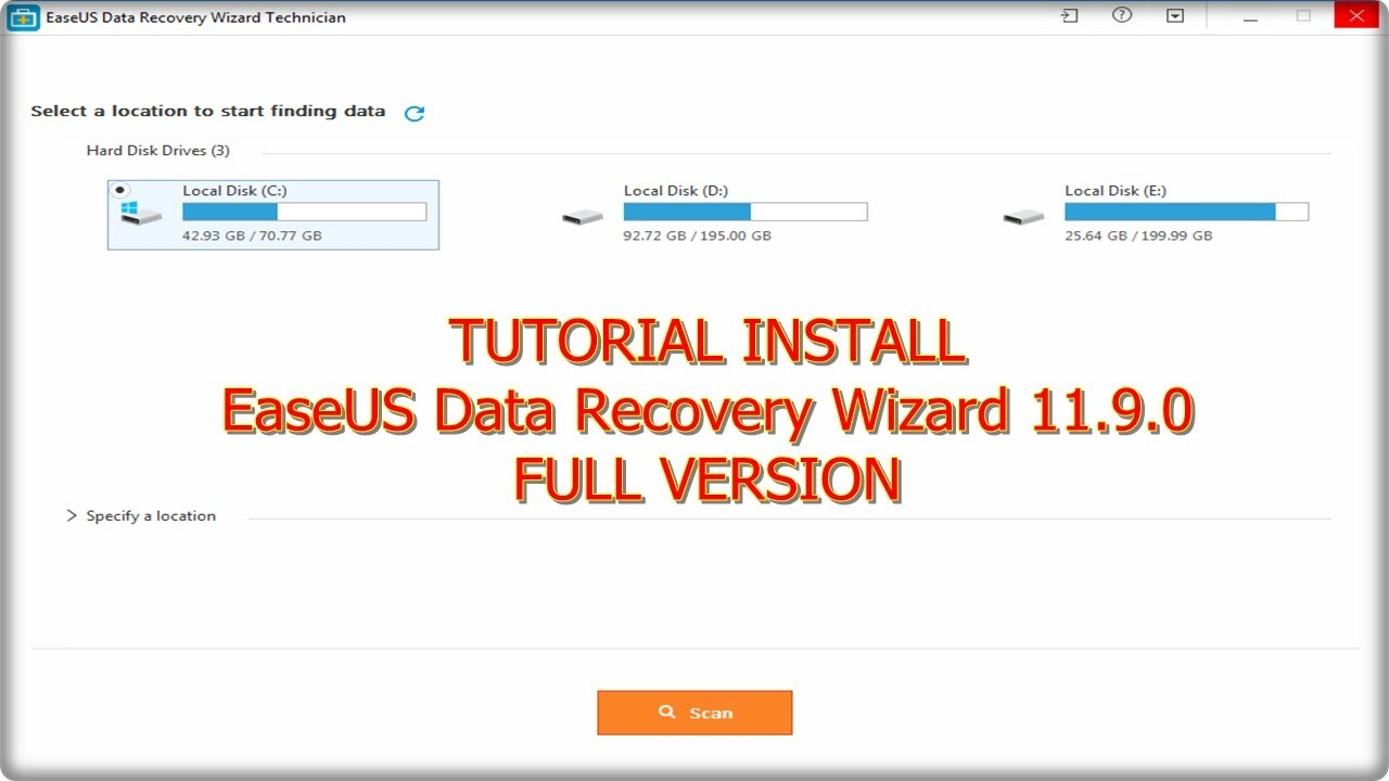 easeus data recovery wizard 11.9 full crack pro+tech