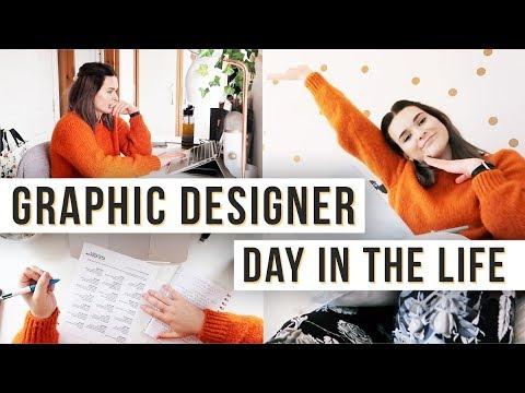 Day In The Life Of A Graphic Designer | Logo Design, Website Design, Freelance Life