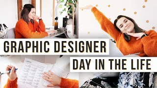 Day In The Life Of A Graphic Designer | Logo Design, Website Design, Freelance Life