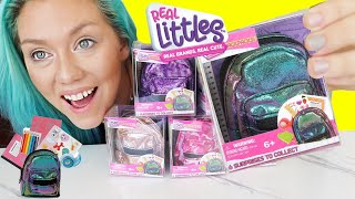 UNBOXING THE COOLEST REAL MINI SURPRISE BACKPACKS EVER!! Real Working Mini School Supplies !!!