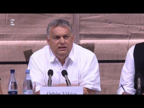 Tusványos - Orbán Viktor teljes beszéde - ECHO TV