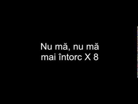 Deliric & DOC feat.  High Jet  - Nu mă mai întorc- Lyrics